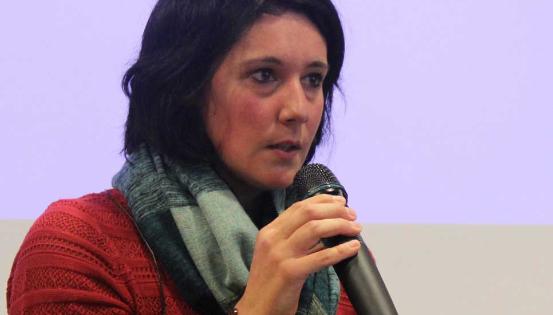 Élodie Orbaen, championne du monde d'handi-escalade et marraine de la campagne Altéo