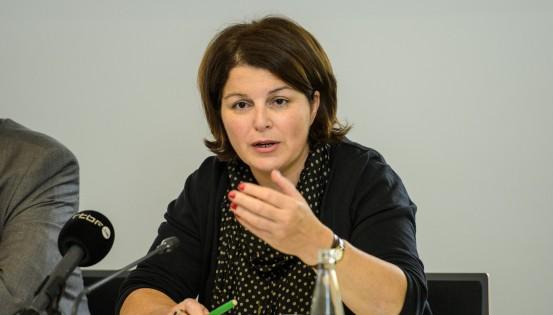 Marie-Hélène Ska, secrétaire générale de la CSC (C)Blegaimages